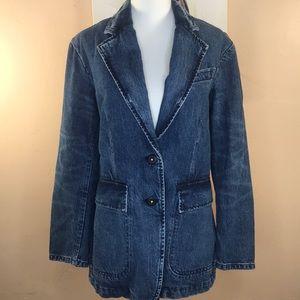NWT Rebecca Taylor La Vie Classic Denim Jacket